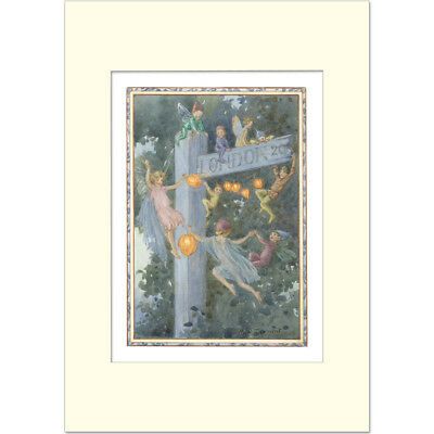 The Signpost - Margaret Tarrant - Medici Mounted Print • 19.50£