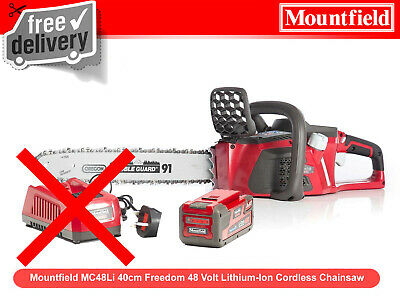 View Details Mountfield MC48Li 40cm Freedom 48V Lithium-Ion Chainsaw With Battery & Charger • 449.99£