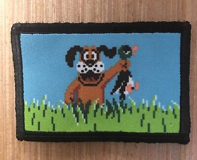 $7.99 • Buy Nintendo Duck Hunt Morale Patch Tactical Military Army Funny Flag USA