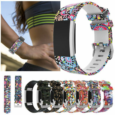 AU10.99 • Buy Sports For Fitbit Charge 2 3 4 Replacement Smart Watch Strap Bracelet Wrist Band
