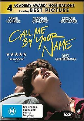 AU22.99 • Buy Call Me By Your Name DVD - Gay Interest