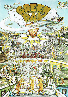 Green Day Dookie Poster New  • 11.99£