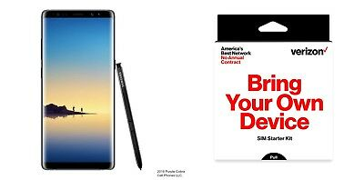 $ CDN599.27 • Buy Open Box Samsung Galaxy Note 8 SM-N950U 64GB - Midnight Black (Verizon Pre-Paid)