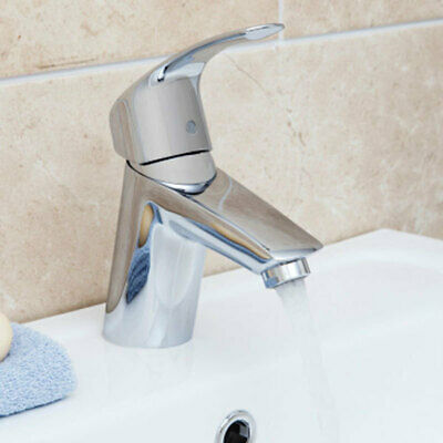 Grohe Eurosmart Mono Basin Sink Mixer Tap Smooth Body Chrome Modern 3246720L • 59.25£