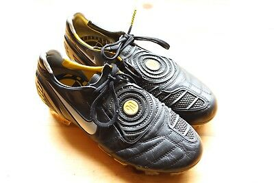 low cost e6a0b e45df Rare Nike Total90 Laser II K-FG Black Yellow Men s Soccer Cleats Size 6.5