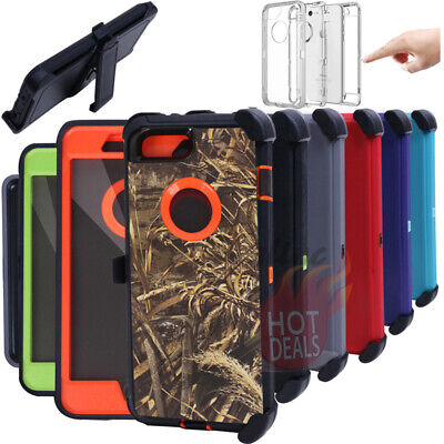 AU14.24 • Buy For IPhone 6/7/8 Plus Defender Case With Screen Protector (Clip Fits Otterbox)
