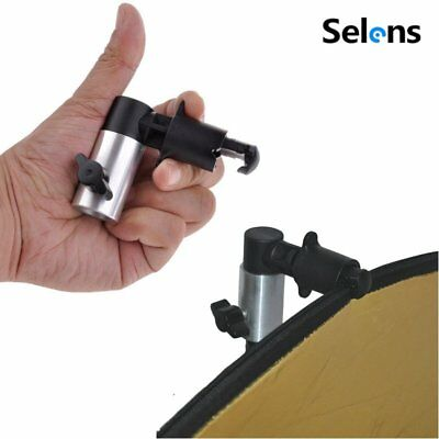£4.57 • Buy Selens Light Stand Clamp Clip Holder For Photo Studio Reflector Disc Background