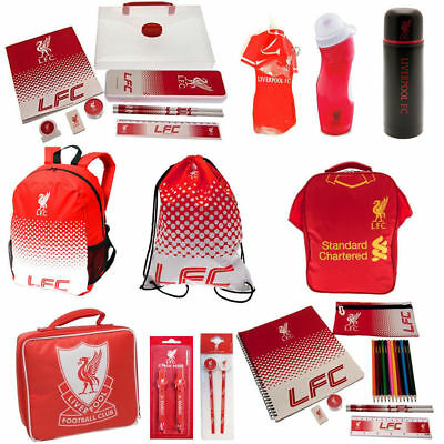 Liverpool FC School Sets - Gym Bag Backpack Boot Bottle For Boys And Girls  • 6.50£