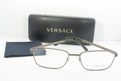 eed06a66b667 Versace Men s Bronze Glasses With Case MOD 1227 1359 53mm • 87.68