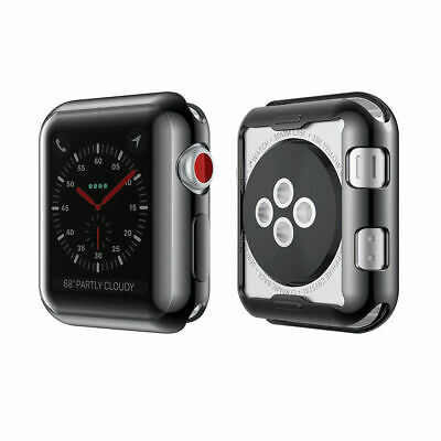 AU8.99 • Buy  Full-Around Full Cover Case + Screen Protector For Apple Watch Series 5/4/3/2/1
