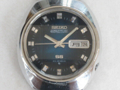 $ CDN460.80 • Buy Seiko 5 Actus 6106-7590 Blue Dial Automatic Mens Authentic Watch Japan F/S