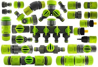 Quality Garden Water Hose Pipe Connectors & Fittings,shock Resistant Material • 12.99£
