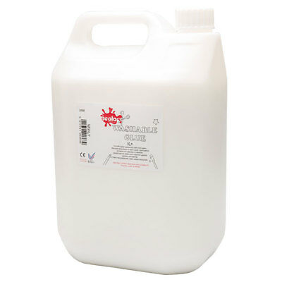 AU30.39 • Buy Scola Washable PVA Glue - 5 Litre - Perfect For Slime Making - School Craft