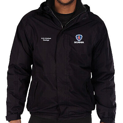 £39.99 • Buy Scania Fleece Lined Waterproof Jacket Embroidered With Your Company Name Or Logo