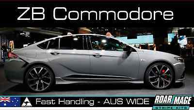AU89 • Buy Fits 2018-2019 Holden ZB Commodore DOOR STRIPES Decals Stickers HSV V6