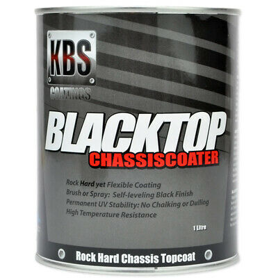 AU105.75 • Buy KBS Coatings - Blacktop Chassis Paint 1L OEM Satin