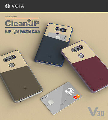 AU16.91 • Buy VOIA LG V30 & V30 Plus CleanUP Bar Pocket Hard Case - 3 Colors