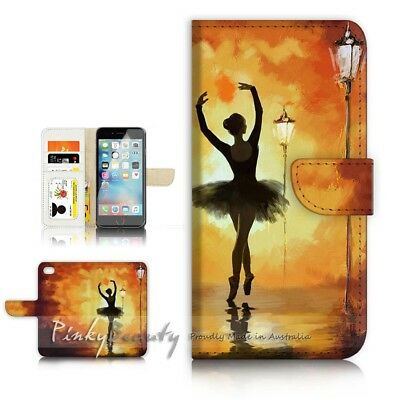 AU12.99 • Buy ( For IPhone 6 / 6S ) Wallet Case Cover P21477 Ballet Girl