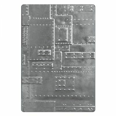 £7.95 • Buy Tim Holtz Foundry 3D Embossing Folder 662717 Texture Fades