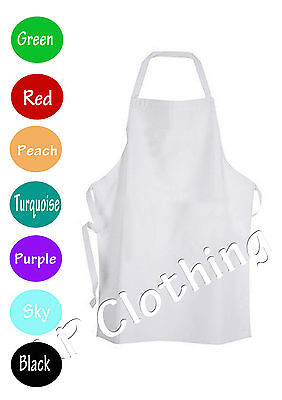£4.99 • Buy  Junior Chef Apron With Pocket Baking Kitchen School Kids Craft Painting Cute
