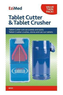 AU17.71 • Buy Ezy-Dose Tablet Cutter With Tablet Crusher