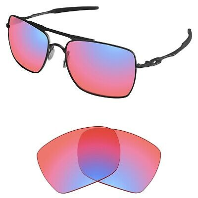 £16.98 • Buy Tintart Polarized Replacement Lenses For-Oakley Deviation HD Ruby (STD)