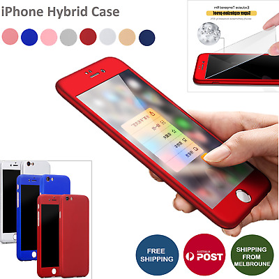 AU5.48 • Buy IPhone 6s 7 8 Case Slide Shockproof Heavy Duty Full Protective Cover For Apple