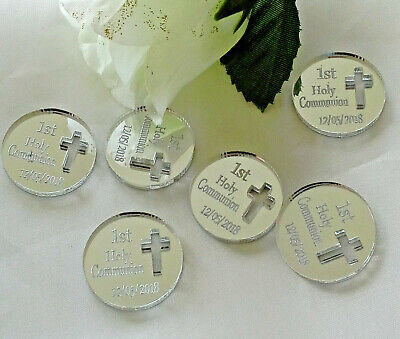 Personalised First Holy Communion 'Coins' X 30 Gift Momento Keepsake Souvenirs • 11.99£