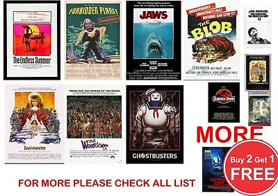 Classic Film, Movie Poster Prints In Sizes A0-A1-A2-A3-A4-A5-A6-MAXI - CLS 3 • 13.99£