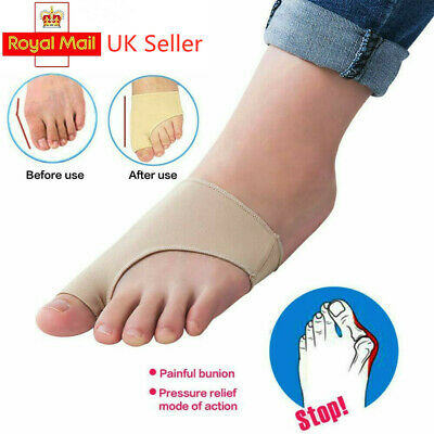 £3.95 • Buy 2pcs Gel Big Toe Bunion Protector Support Bunions Blisters Gout Foot Pain UK