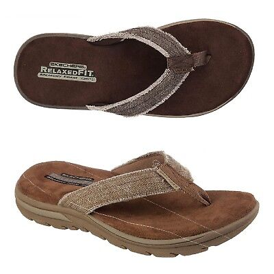 Skechers Supreme Bosnia Thong Men's Sandals, Low Heel, Style #64152 • 38.30£