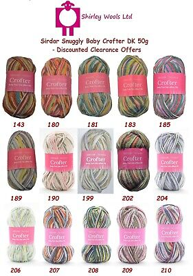 Sirdar Snuggly Baby Crofter DK 50g - Clearance Offer Price From £1.75 • 1.75£