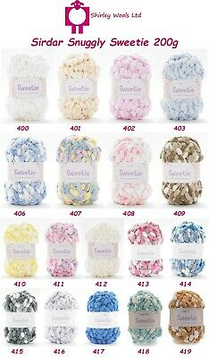 Sirdar Snuggly Sweetie 200g - Complete Range - CLEARANCE PRICE FROM £3.99 • 7.50£
