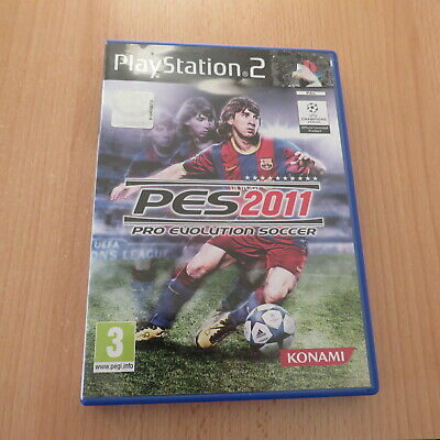 AU38.99 • Buy PRO EVOLUTION SOCCER 2011 PES11 PS2 PLAYSTATION 2 Pal