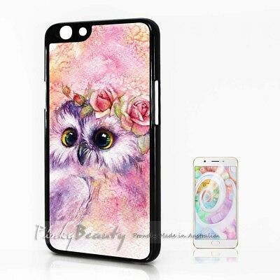 AU9.99 • Buy ( For Oppo A57 ) Back Case Cover P30115 Cute Owl