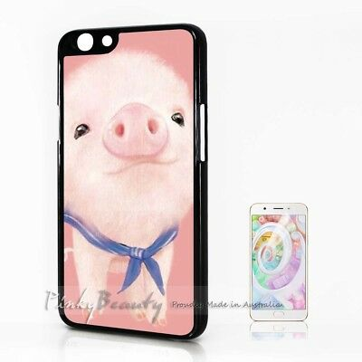 AU9.99 • Buy ( For Oppo A57 ) Back Case Cover P30117 Pink Pig