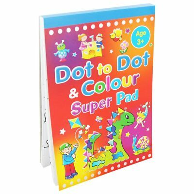 Dot To Dot Super Pad - Colouring And Activity Book - Ages 3+ *FREE P&P* • 2.99£