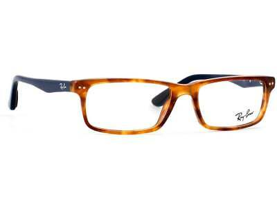 7677530980 Authentic Rayban RX5277-5609-54 Red Havana Mens Optical Frame