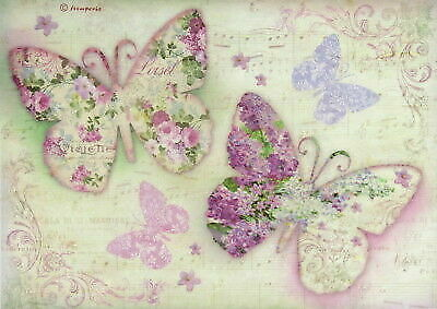 £1.89 • Buy Rice Paper For Decoupage, Scrapbook Sheet, Stamperia Butterfly