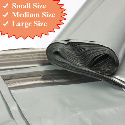 £3.15 • Buy Grey Strong Mailing Mixed Bags Plastic Postal Mail Postage Poly 100 500 1000