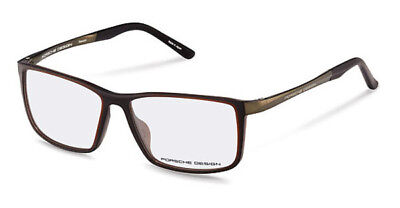 046f0a3affa6 NEW Porsche Design P8327 B 56mm Dark Grey Optical Eyeglasses Frames •  183.20