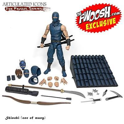 $ CDN194.32 • Buy Fwoosh Exclusive Articulated Icons The Feudal Series - Shinobi (one Of Many)