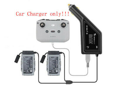 AU25.28 • Buy 3in1 Car Charger Adapter For 2 Battery & Transmitter USB For Rc DJI Mavic Air 2