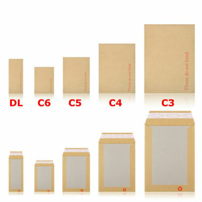 £7.89 • Buy Hard Board Backed Envelopes 'Please Do Not Bend' A6 / C6 - A5 / C5 - A4 / C4
