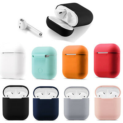 AU6.70 • Buy AirPods Accessories Case Protective Silicone Cover Holder For AppleAirPod Solid