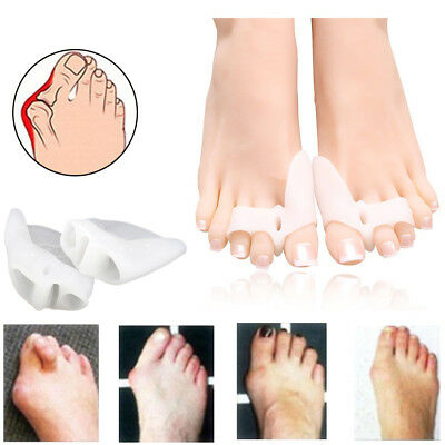 $6.44 • Buy Bunion Corrector Relief Gel Toe Separator For Hammer Toe With Forefoot Pads USA