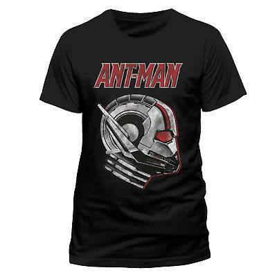 £9.99 • Buy Official Marvel Comics Ant-man And The Wasp - Side View Mask Black T-shirt (new)