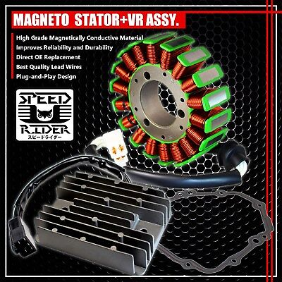 $139.95 • Buy 00-05 Gsxr 750/600/1000 Magneto Coil Stator+voltage Regulator Rectifier+gasket