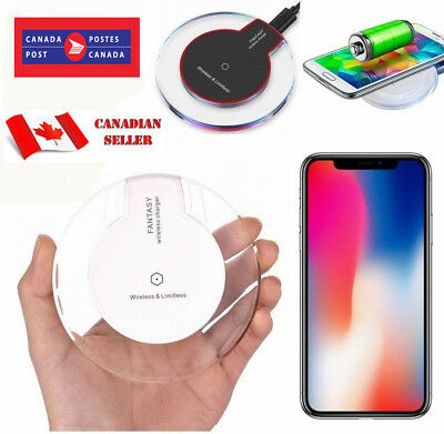 $ CDN7.99 • Buy Qi Wireless Charger Charging Pad For IPhone 11 XS MAX XR 8 Samsung S9 S8 S10+