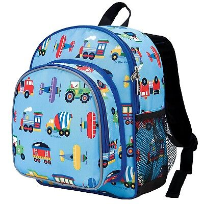 AU51.83 • Buy Backpack Kids Toddler Boy Truck Tractor Blue Gift School Travel Toy Storage New
